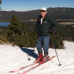 Author Tanyo Ravicz skiing