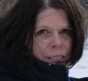 Deb Vanasse in winter