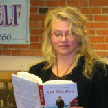 Dyson at a book reading.