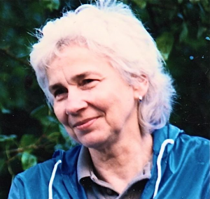 Alaskan author Nancy Mendenhall
